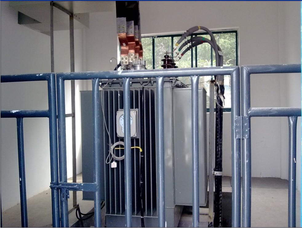 短信报警智能箱式变压器箱安装用户工程配电房开关柜安装施工箱变方案